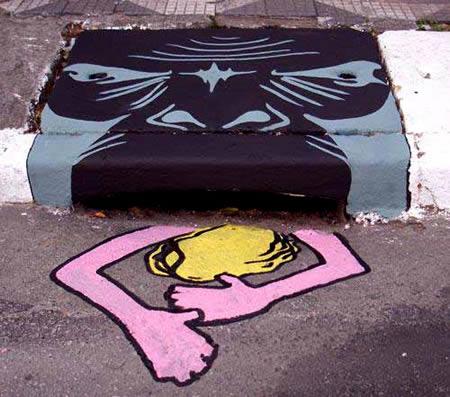 Storm Drain Art: 20 Artworks from Brazil